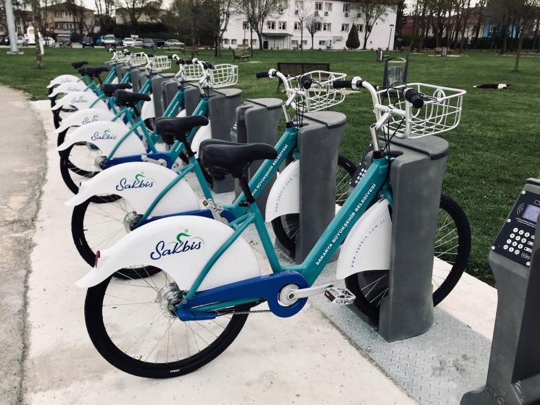 Sakbis Kentpark İstasyonu Akıllı Bisiklet