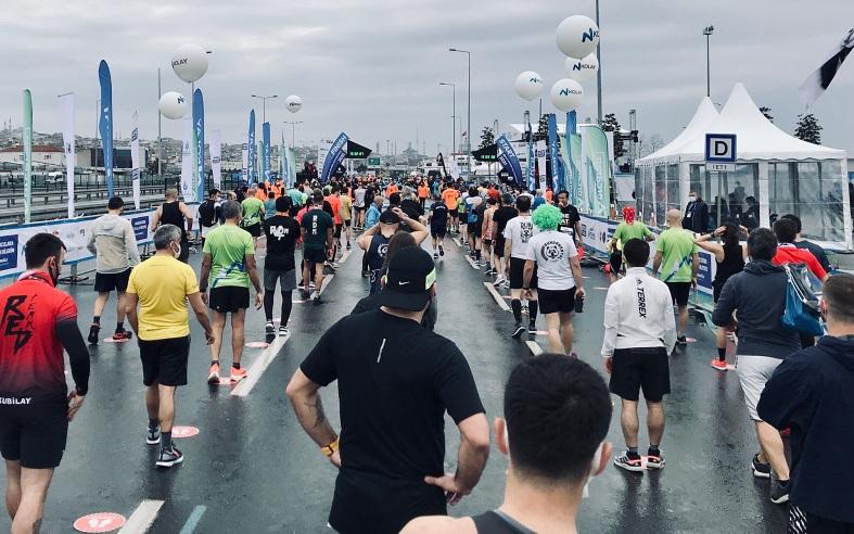 İstanbul Yarı Maratonu 2021 Başlangıç Çizgisi